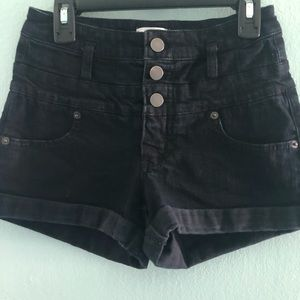 3 for $10 | black high waisted shorts